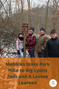 Big Lyons Falls Hike