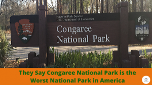Congaree National Park is the Worst National Park in America
