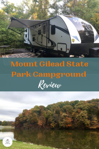 Mount Gilead State Park Campground Review Pinterest Pin