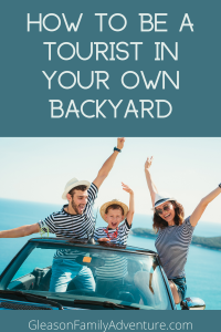 Great tops on how to be a backyard tourist